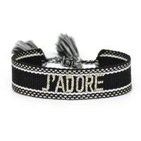 Luxus Designer Schmuck Mode Armband Frauen gewebt Tassel Stickerei geflochten S Großhandel Geschenke Boho Wrap Kid Girl 3 dlm2