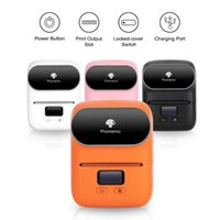 Phomemo M110 Label Printer Portable Bluetooth Thermal Maker Apply To Labeling, Office, Cable, Barcode Sticker Printers
