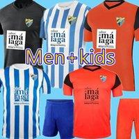2021 2022 Malaga Soccer Jerseys Malaga 21/22 K. Bare Juanpi Adrian CF كرة القدم قميص Juankar Camiseta de Futbol Juande رجل Kids Hombres Nin