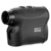 Telescope & Binoculars Rangefinder Golf Hunting Measure Digital Monocular Distance Meter Speed Tester Range Finder 600 Black