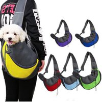 Pet Dog Cat Carrier Bag Front Comfort Travels Tote Single Shoulder Bags Pets Supplies will and sandy Drop Ship WY1527