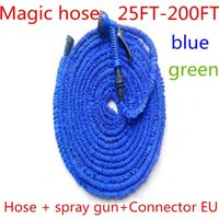 Magic Garden Hose Reel Can Triple Extend The Flexible Multi-Purpose Watering By 25-200 FT Equipments