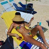 Women's Swimwear K Jenner Bikini Summer Swim Women Set Brezilian Swimsuit