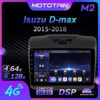Player Mototain Autoradio Automotive Radio 2 Din For Isuzu D-max 2021 - Android 10.0 Multimedia 4G LTE 6G 128G Rom 1280*720 Car Dvd