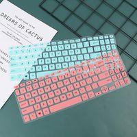 15,6-Zoll-Notebook-Laptop-Tastatur-Abdeckung Protector-Haut für Asus S15 S5300U-Abdeckungen