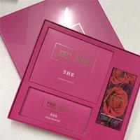 Make-up Set FEM Rosa PR Collection Kit Eyeshadow Highligher-geperste poederlipsticks