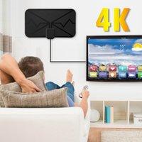 4K Antenne numérique TV intérieure avec signal d'amplificateur Booster 360 milles DVB-T2 Antenne HDTV HD TV Digital Antena Smart Ménage