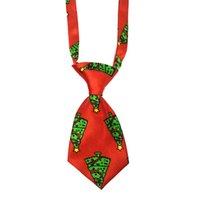 Christmas Pet Supplies Pet Dog Cat Xmas Neckties Bowties Santa Deer Dog Apparel Grooming Accessories Small-Middle Ties GWE8607