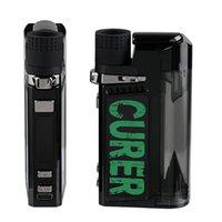 Аутентичные LTQ Curer 3 в 1 TC Набор испарителя с заменяемым сухой травяной восковой масляной катушки 1600 мАч батарея травяной воды фильтр для воды