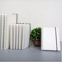 Notebook da bobina do livro de espiral A6 para-do lened Dot Dot Blank Rede de papel diário diário SketchBook para material de papelaria de material escolar