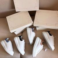 Diseñadores para hombre zapatos para mujer Veel azul de la plataforma de espalda zapatillas de deporte de cuero genuino blanco Confort Pretty Luxurys Zapato Tamaño 35-46