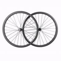 """دراجة عجلات ضوء 29er 30 ملليمتر جبل 28 المتحدث MTB XC دراجة الكربون العجلات 29 """"لايحتاج عبر البلاد جنوط الخلفية 12x148"""
