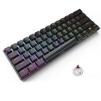 Key Bluetooth Dual-mode Mechanical Keyboard Gaming For Pc Gamer Keyboards