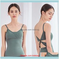 Yoga Outfits Fitness Wear Athletic Outdoor Apparel Sports & Outdoorsyoga Clothing Womens Jacket Vest Exercise Gym Spring Summer Breathable S