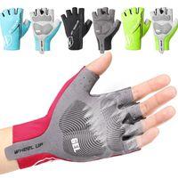 Cycling Gloves 2021 Half Finger Mountain Bike Fingerless Gel Men And Women Outdoor Sports Accessories M-2XL