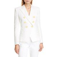 Mode Femmes Vêtements Blazers Haute Qualité Femmes Costumes Coating Designer Dames Veste Veste 4 couleurs Taille S-XL