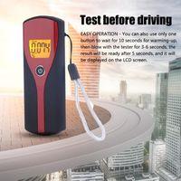 Blowing Breathalyzer Portable Digital Alcohol Tester Breath Detector To Detect Drop No Batteries Alcoholism Test
