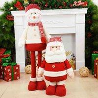 ビッグサイズサンタクローススノー新年ホームクリスマスデコレーション2021木の装飾ウィッシュダウンオーディョスデナビダッドワw1