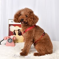 Adjustable Nylon Pet Harness Control Harness Walk Collar Safety Strap Vest Harness Collars For Small and Medium Dog