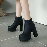 Boots Motorcycle Ladies Ankle High Heels Platform Booties Party Shoes All Sizes