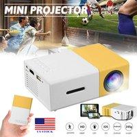 Piccolo proiettore a LED portatile Full HD 1080P Home Theater Cineaket VGA / HDMI / USB / SD C0030 US C0030