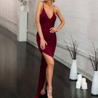 Casual Dresses Elegant Party Long Dress Women 2021 Summer Sexy Backless Ladies Slim Floor Length Female Red Bodycon