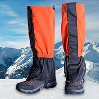 للجنسين ماء الدراجات legwarmers الساق غطاء التخييم التنزه التزلج التمهيد السفر حذاء الثلوج الصيد تسلق الجرمامة الذراع الذراع يندبروف