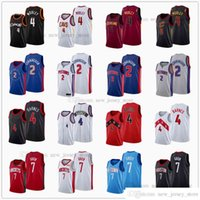2021 Draft Pick Basketball 2 Cade Cunningham Jerseys Impreso 7 Jalen Green 4 Evan Mobley Scottie Barnes Azul Blanco Gris Rojo Negro Red Send