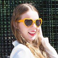 Outdoor Eyewear Fashion Heart Glasses Sport Cycling Sunglasses For Women Retro Sun UV400 Children's Wholesale