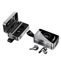 H3 TWS Auriculares inalámbricos Caja de carga Bluetooth 5.0 Auriculares HD Mirror Pantalla IPX7 Earbudos impermeables Estéreo para teléfono