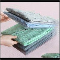 Boxen Bins Housekeeping Organisation Hausgarten Drop Lieferung 2021 Stapeln Wäschebrett Speicher Datei Rack Kleidung Finishing Folding RPL