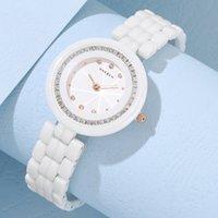 Designer Watch Marque Montres Montres de Luxe Op Luxe Mode Diamond Quartz pour femmes pour cadeaux Horloge Relogio Feminino Dames
