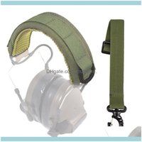 And Camping Hiking Sports & Outdoorsretractable Molle Earphone Er Lengthened Tactical Head Wear Headset Adjustable Outdoor Military Hunting