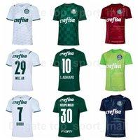 2021-2022 Palmeiras Jersey Football Home 23 Veiga 10 Adriano 29 Willian 7 Rony 27 Veron 25 Menino 8 ZE Rafael Football Shirt Kits