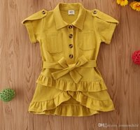 2021 Toddler Kids Girl Princess Dress 3 Colors Wedding Birthday Party Dresses Pageant Children Clothing Kid Costumes