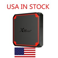 USA IN STOCK X96 Mini Plus X96mini Android 9.0 Smart TV Box 2G 16GB Amlogic S905W4 Quad Core 2.4&5G WiFi Set Top Media Player