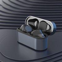 50% de descuento a los auriculares inalámbricos ANDD1Y_TOP Auriculares Transparencia Cambie el nombre de metal GPS Carga inalámbrica de carga Bluetooth Headphones Generación Detección de la oreja para teléfono celular