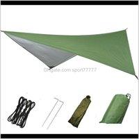 Tents Shelters And Hiking Sports & Outdoors Drop Delivery 2021 High Quality Outdoor Multi-Function Canopy Waterproof Sunscreen Tent Camping S