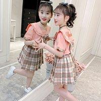 تنورة الفتاة الدعوى البحرية أسلوب الصيف من الاتجاه الصيني للأطفال