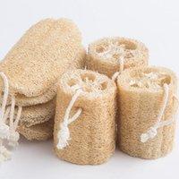Natural Loofah Luffa Bath Supplies Environmental Protection Product Clean Exfoliate Rub Back Soft Loofah Towel Brush Pot Wash