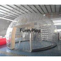 خيمة نفخ للماء، جودة عالية فقاعة شفافة عائلة حفل زفاف فقاعة الخيام للبيع، نفخ خيمة قبة pvc