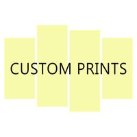Personalized Gift Custom Poster Any Size With Your Photos Art Canvas Painting Oil Wall Picture Print Home Bedroom Decor Artwork