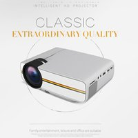 YG400 Mini Portable LED Projector 1000Lumens 800*480dpi LCD HomeTheater Projector Support 1080P Proyector HDM VGA USB Projector