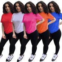 Women jogging suits Summer Clothes Cotton Outfits S-XL Tracksuits Short sleeve T shirt Top+black pants Two Piece Set Casual Black Sports Suit sweatsuits 5629