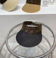 2021 Casual Summer Visor Sun Herren Design 3 Farbe Sport Hat Herren Frauen Golf Tennis Outdoor Beach Stirnband Snapback Baseball Hüte
