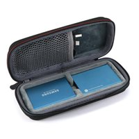 Cell Phone Pouches Holds 2PCS Hard EVA Carry Case For Samsung T5   T3 T1 Portable SSD 250GB 500GB 1TB 2TB USB 3.1 External Solid State Drive