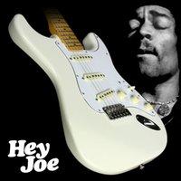 Jimi Hendrix Stratocaster Guitare Électrique Mahogany Body Mint Couverture Vert Simple Bobine Érable Érable Revers Hillstock