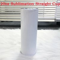 20oz DIY Blank Straight Skinny Tumbler Double Wall Insulated...