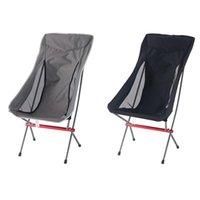 Reisen Klappstuhl Superhard High Load Camping Tragbare Strand Wandern Picknick Sitzfischereiwerkzeuge Outdoor Zubehör