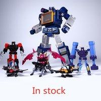 G1 Dönüşüm THF THF-01J SoundWave THF Bant Kolordu THF01J THF01-Jone Bant Walkman Masterpiece MP13 MP-13 Action Figure Robot C0323
